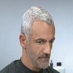 como tingir cabelos brancos 90