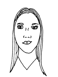 O Formato de Rosto Oblongo