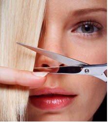 Cortar o próprio cabelo