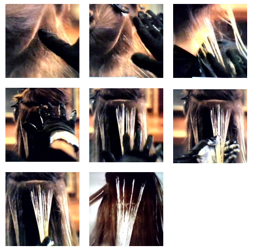 cabelos loiros com mechas2