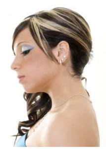 cabelos com mechas