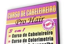 curso de cabeleireiro Pro Hair