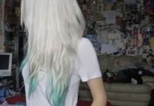 como pintar o cabelo de branco 2