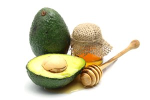 Hidratacao para cabelo cacheado abacate e mel