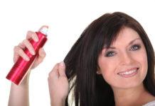 spray para cabelo