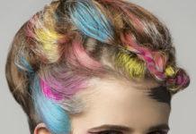 tinta colorida para cabelo