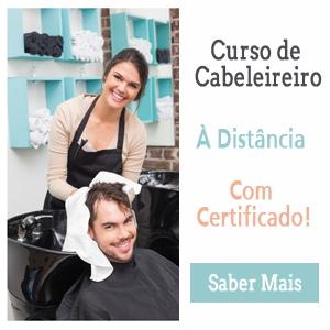 Curso de Cabeleireiro à Distância e Com Certificado